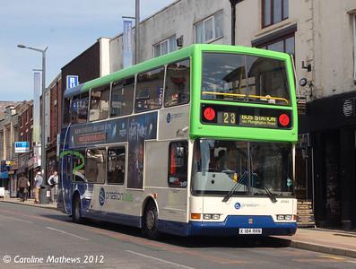 Preston Bus 40584 (X184RRN), Friargate, Preston, 3rd May 2012