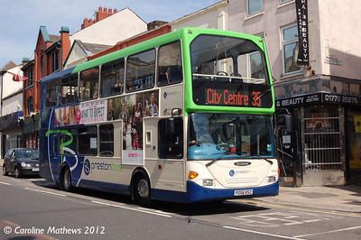 Preston Bus 30407 (PO56RSZ), Friargate, Preston, 3rd May 2012