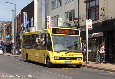 Cumfybus MX09MJV, Friargate, Preston, 3rd May 2012
