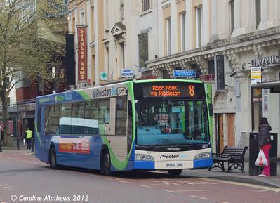 Preston Bus 30917 (PO56JDX), Lancaster Road, Preston, 3rd May 2012