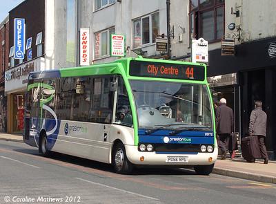 Preston Bus 20772 (PO56RPU), Friargate, Preston, 3rd May 2012
