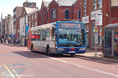 Stagecoach 28514 (PO56JDJ), Fishergate, Preston, 3rd May 2012