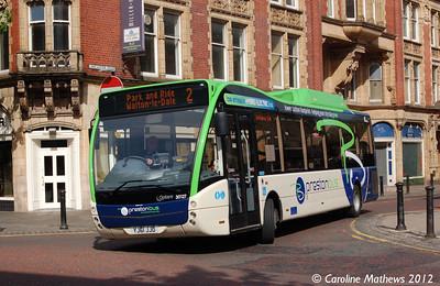 Preston Bus 30127 (YJ61JJO), Lancaster Road, Preston, 3rd May 2012