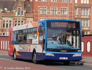 Stagecoach 28513 (PO56JDF), Fishergate, Preston, 3rd May 2012