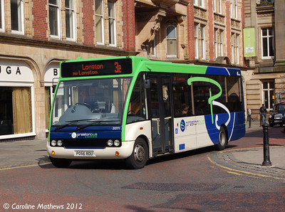 Preston Bus 20771 (PO56ROU), Lancaster Road, Preston, 3rd May 2012