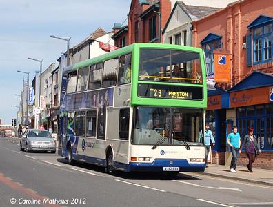 Preston Bus 40592 (V192EBV), Friargate,  Preston, 3rd May 2012