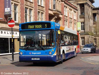 Stagecoach 22807 (V807DFV), Lancaster Road, Preston, 3rd May 2012