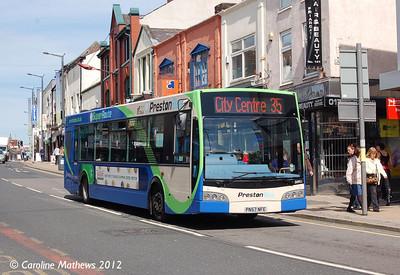 Preston Bus 30921 (PN57NFE), Friargate, Preston, 3rd May 2012