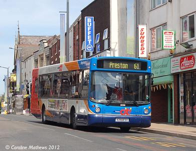 Stagecoach 22256 (V256ESX), Friargate, Preston, 3rd May 2012