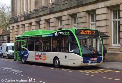 Preston Bus 30124 (YJ61 JJF), Jacson Street, Preston, 3rd May 2012