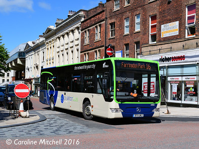 Preston Bus 33004 (BT11UWJ), Lancaster Road, Preston, 27th July 2016