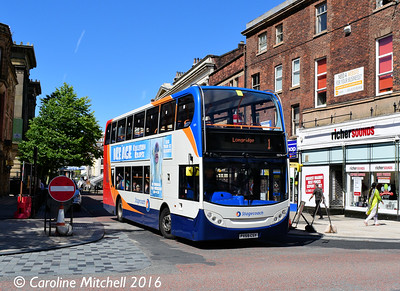 Stagecoach 15574 (PX59CSY), Lancaster Road, Preston, 27th July 2016