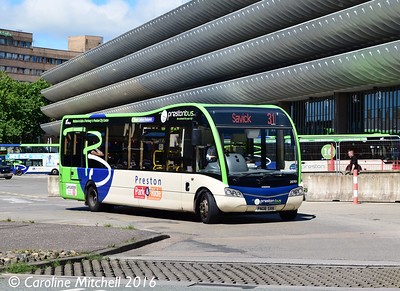 Preston Bus 20701 (PN08SVK), Preston Bus Station, Preston, 27th July 2016