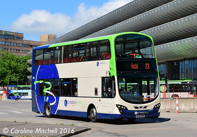 Preston Bus  40628 (BJ15TWG), Preston Bus Station, Preston, 27th July 2016