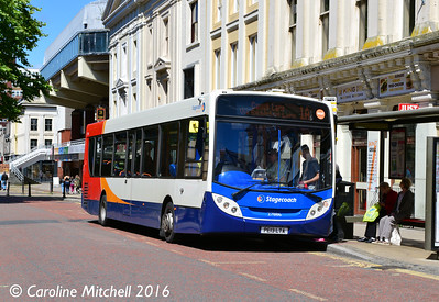 Stagecoach 27886 (PE13LTA), Lancaster Road, Preston, 27th July 2016