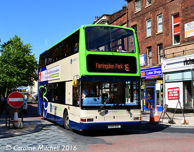 Preston Bus 40541 (V541ESC), Lancaster Road, Preston, 27th July 2016