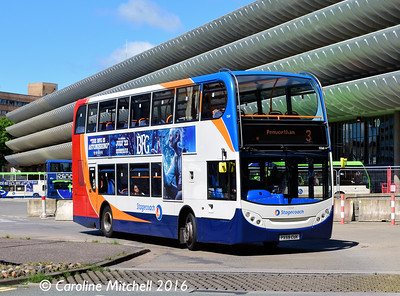 Stagecoach 15568 (PX59CUK), Preston Bus Station, 27th July 2016