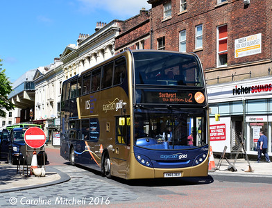 Stagecoach 15244 (YN65XEV), Lancaster Road, Preston, 27th July 2016