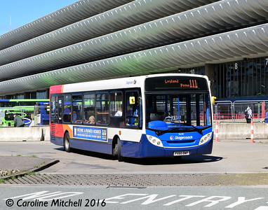 Stagecoach 36185 (PX60DWP), Preston, 27th July 2016