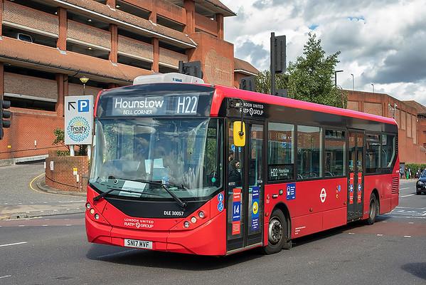 DLE30057 SN17MVF, Hounslow 24/8/2020