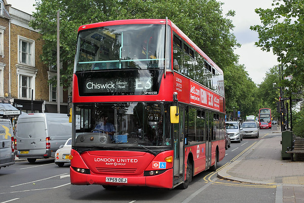 SP40150 YP59OEJ, Chiswick 15/6/2018