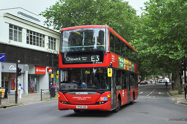 SP40156 YP59OER, Chiswick 15/6/2018