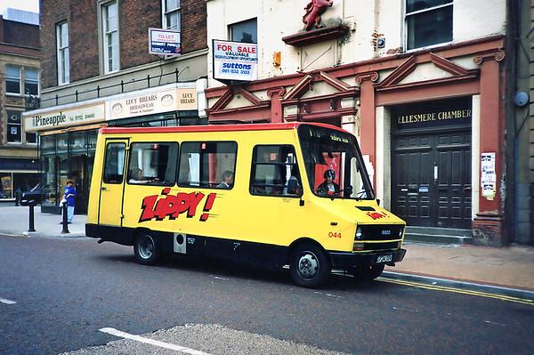 044 D734YBV, Preston 29/6/1991