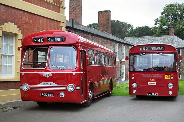 452 FCK884 and 665 MAN665D, Lytham 27/8/2018
