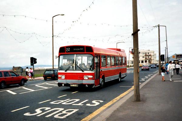 428 NTC608M, Morecambe 29/6/1991
