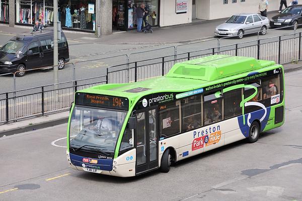 30124 YJ61JJF, Preston 19/6/2014