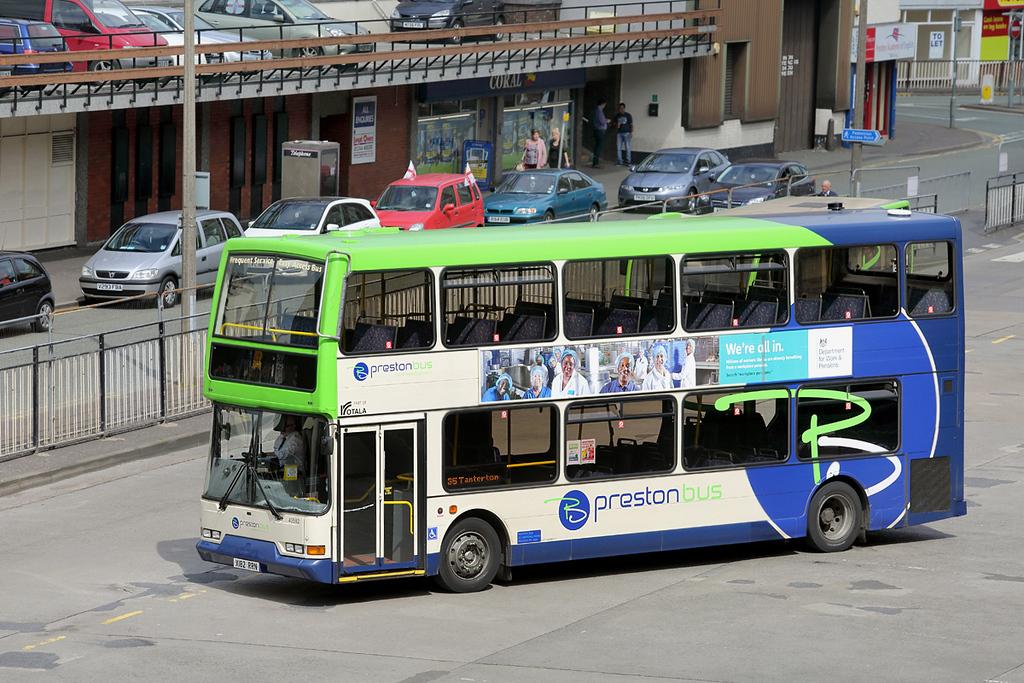 40582 X182RRN, Preston 19/6/2014