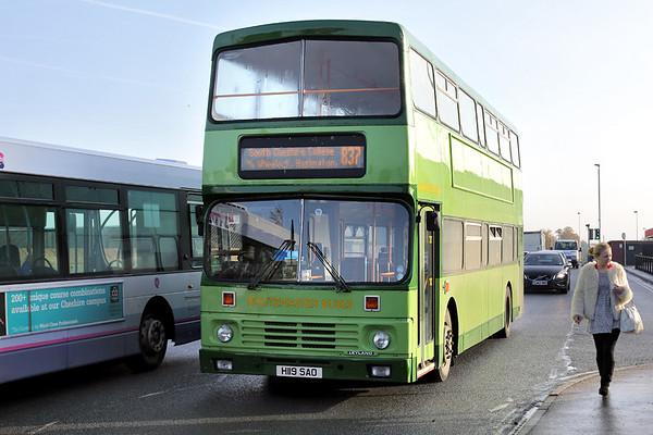 L119 H119SAO, Crewe 17/10/2014