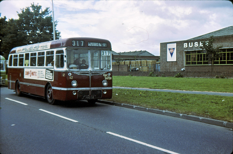 RT 12 Southall AEC Works 24 Jun 79