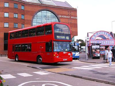 Metrobus 952 (YN07EXO), Redhill, 11th August 2007
