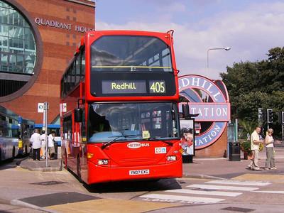 Metrobus 948 (YN07EXG), Redhill, 11th August 2007