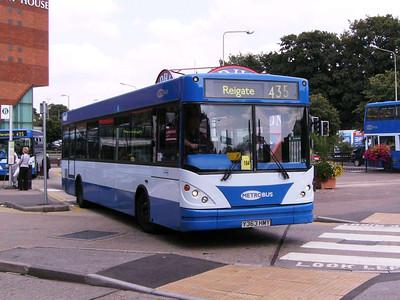 Metrobus 363 (Y363HMY), Redhill, 11th August 2007