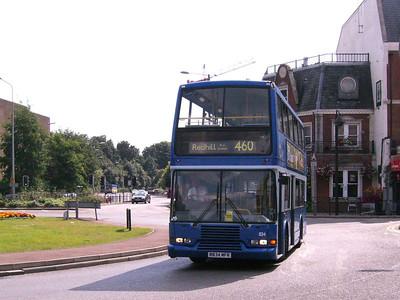 Metrobus 834(R834MFR), Redhill, 11th August 2007