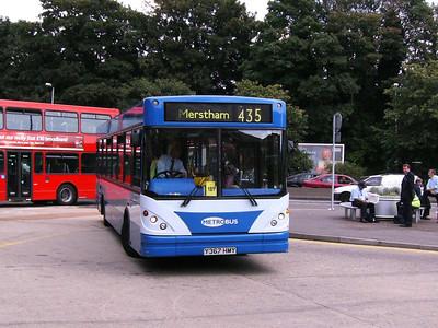 Metrobus 367 (Y367HMY), Redhill, 11th August 2007