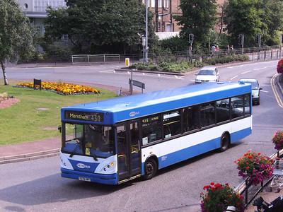 Metrobus 378 (Y378HMY), Redhill, 11th August 2007