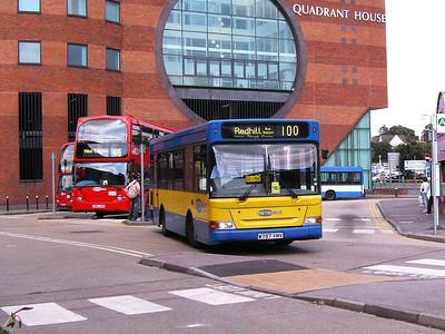 Metrobus 297 (W797WMV), Redhill, 11th August 2007