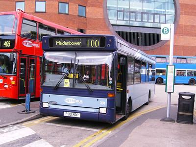Metrobus 301 (P301HDP), Redhill, 11th August 2007