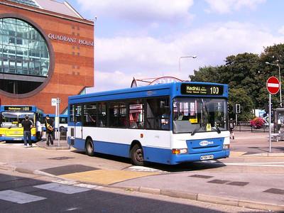 Metrobus 294 (W794WMV), Redhill, 11th August 2007