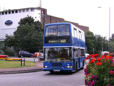 Metrobus 830 (R830MFR), Redhill, 11th August 2007