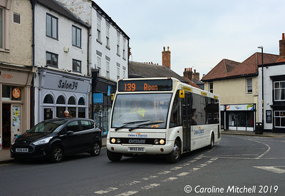 Dales and District MX55BXS, Queen Street, Ripon, 1st April 2019