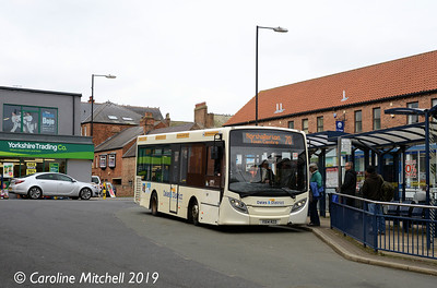 Dales and District YX14RZD,  Ripon Bus Station, 1st April 2019