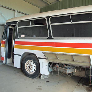 Ex m/o 4286 (Later 5700 MO) Volvo B58/CCMC (4/79) Withdrawn & sold 5/2010. (Image from Gumtree Sales Site 01/2015)
