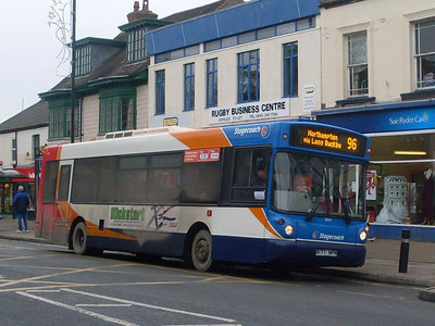 Stagecoach 31047 (R177NPN), Rugby, 29th December 2009