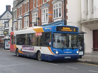 Stagecoach 31048 (R178NPN) , Rugby, 29th December 2009