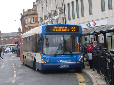 Stagecoach 31050 (R270NPN), Rugby, 29th December 2009