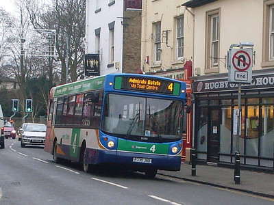 Stagecoach 31330 (P330JND), Rugby, 29th December 2009